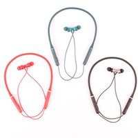 Sports Cell Phone Earphones wireless bluetooth headset binaural in-ear hanging neck type universal for Iphone Samsung Huawei Xiaomi
