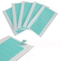Pegamento adhesivo de cinta adhesiva 4 cm * 0.8 cm Cintas laterales dobles impermeables para el encaje Peluca Peluquería Herramienta de extensión