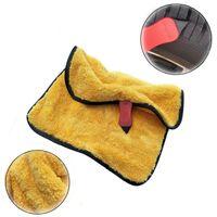 Car Sponge Mutil-purpose Wash Microfiber Towel With Gap Scraper Ultra Soft Absorbant Cleaning Cloth Drying 30x40cm