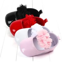 First Walkers PU Baby Shoes Girls Flower Princess Toddler Chaussure Fille Schoenen Moccasins