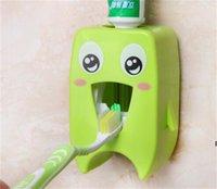 Home Automatico Dentifricio Dentifricio Distributore Denti denti Portaspazzolo per il bagno Dentifrutti domestico Parete Rack Back Set Dentifricio Squeezer HWA5309