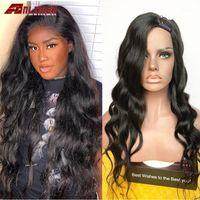 Side Part U Wig Body Wave Pre Plucked 180 Density Wavy Brazilian Remy Glueless Human Hair Anlimer1
