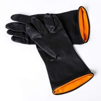 Handschuhe Batch-Operation Säure- und Alkali-Proof Industrielle Reinigung Latex Arbeitsschutzhandschuhe täglich allgemeine Waren 120g