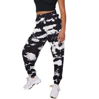Sweatpants All Season Casual Tie Dye Elastic Waist Pants Trousers Sports Running Track Baggy Womens Camouflage Joggers