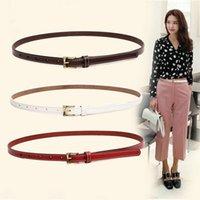 Belt women's fine decoration Korean dress small leather belt casual exquisite versatile women
