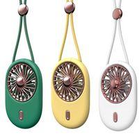 미니 핸드 헬드 목 팬 USB 가제트로 휴대용 충전식 공기 냉각기 학생 야외 여행 데스크탑 작은 팬 주머니