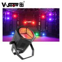 V-Show USA Warehouse 4 sztuk Retro Lights 40 W COB RGBW Par Strobe Light dla DJ Disco Wedding