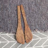Новая венге деревянная маска нож японский стиль масло нож мармелад джем нож пельмени сливк ножи оптом EWF7640
