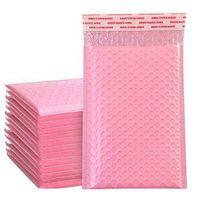 Bubble 20 * 25см амортизационная упаковка конверт мешок самоуверенности почтовики мягкие конверты с пузырьками рассылки подарочные пакеты сумки Pink CQ1L