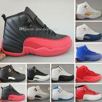 New 12 Xii Mans scarpe da basket scarpe da sneakers donne taxi playoffs gamma blu grigio sport scarpe da corsa per uomo donne US 5.5-13