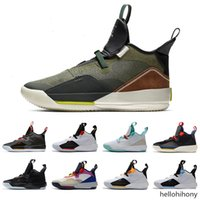 Herren Basketballschuhe XXXIII PF 33 All-Star High Quality Utility Blackout Guo Ailun 33s Chinesisches Neujahr Graue Segel Sneakers