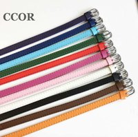 Charme Armbänder CCOR 20-100 stücke 8 * 230mm Echtes Leder Armband Fit 8mm Slide Charms Buchstabe Bead DIY Zubehör SWD0004