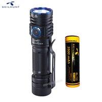 Novo Skilhunt M300 XHP35 High Power 2000 Lumens Edit Edit USB Magnética Recarregável Impermeável LED Lanterna 210322