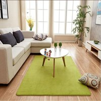 Sizes Household Rectangular Floor Carpet Doormat Anti-slip Solid Mat Rugs For Kitchen Bathroom Mats Soft Foot Pad 11 Colors Bath
