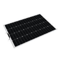 100 W 18 V Esnek Güneş Paneli Pil Güç Şarj Kiti RV Araba Tekne Kamp Için
