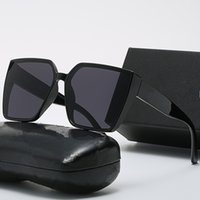 Large Frame Sunglasses For Women Uv Protection Vintage Casual Eyewear Designer Cycling Sun Glasses With Box