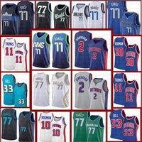 Giannis Luka 77 34 Antetokounmpo Doncic Баскетбол Джерси 2021 Новые майки 2020 2021 Новая ретро сетка мужская