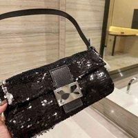Fend luxurys designers bags handbag New Sequin French stick bag for women Women Luxurys Designers Bags Ysj