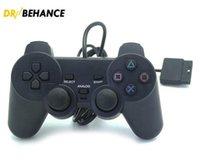 PlayStation 2 Wired Joypad JoySticks Gaming Controller per PS2 console Gamepad Doppio shock di DHL