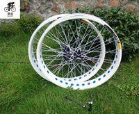 자전거 바퀴 kalosse 디스크 브레이크 80mm 36 holes 26x4.0 타이어 지방 자전거 135/190 허브 .SNow 8/9/10 속도