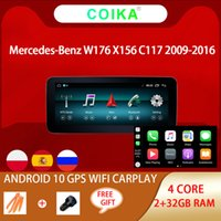 """10.25""""Car DVD player Android 10 System Touch Screen Radio For Mercedes-Benz A CLA GLA W176 W117 X156 RAM Google BT WifI Navi"""