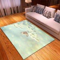 Schmetterling Teppiche Home Schlafzimmer Dekorative Bodenmatten Modernes Wohnzimmer Rutschfeste dicke Matte Kind krabbeln 3D-Druck Große Teppiche 314 V2
