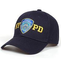 High Quality Gorras De Beisbol NYPD Embroidery Snapback Cap Bone Cotton Baseball Hat For Men Women Tactical Bonnet Casquette