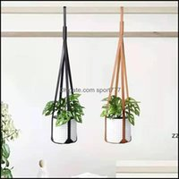 Planters Supplies Patio, Lawn Garden Home & Gardenmoderns Leather Plant Hanger Pots Plants Hangings Strap Modern Wall Ceiling Hanging For Fl
