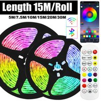 Strips LED Strip Lights Tape Smart Bluetooth WIFI RGB SMD2835 Flexible Lamp Luces Light Pasted For Housing Room Decor Festival