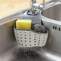 Drain Basket Home Kitchen Hanging Drain Bag Bath Storage Tools Sink Holder Kitchen Accessory Under-Sink Organizers NHD7193