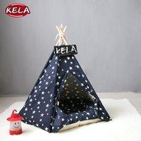 케네 레스 펜 개 집 접이식 애완 동물 텐트 고양이 야외 휴대용 침대 강아지 크레이트 새끼 고양이 홈 케이지 매트