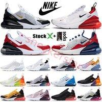 270 2020 Yaz Gradyanları Üniversitesi Altın Gökkuşağı 270 Yastık Erkek Sneakers Platin 270S Spor Koşu Ayakkabıları 27c Kadınlar Eğitmeni Boyutu 36-45