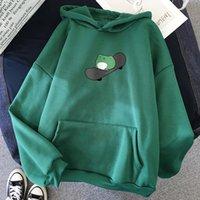 Mens Street Wear Hoodies Men Skateboard Hoodie Winter Frog Oversized Sweater Men's And Women's Warm Pullover Gym Clothing