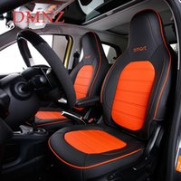 Car Seat Covers Cover Full Sets Front Leather Decoration Four Seasons Breathable Cushion For Smart 453 Fortwo 15-2021