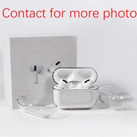 Per Apple Airpodi Pro 2 Airpodspro 3 Auricolari Auricolari Glossy Snap Case Crystal Invisible Ultra Sottile PC Hard Cover Cancella Protect Shell High Quality