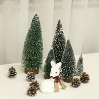 30cm tall Mini PVC Trees without light Table Decoration DIY Room Decor Ornaments Home Decorations