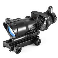 Trijicon ACOG 1x32 Red Dot Sight Optical Rifle Scopes met 20 mm Rail voor Airsoft Gun