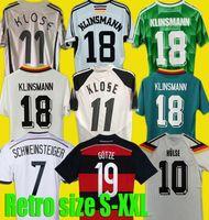 2004 2006 1990 1992 1994 Almanya Retro Futbol Jersey Eve Klinsmann Matthias Futbol Gömlekleri 1996 1998 1988 1980 2014 Kalkbrenner Littbarski Balleck