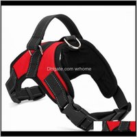 Collars Leashes Pet Supplies Home & Gardenlarge Dog Vest Harness No-Pull With Soft Pad Oxford Material For Labrador Golden Retriever Samoyed