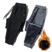 Pantalons Hommes Kksky Joggers Hommes Pannorie Surface Chaud Fitness Sportswear Fonds Harem Pantalons Homme Sports Black Sports Piste courante Hombre L9Tu