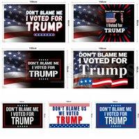2024 Donald Trump Flag 90 * 150 cm No me culpes He votado por Trump Banner Banderas Estados Unidos Presidente Electoral Banderas Cyz3215