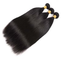 Wholesale Price 3 Bundles Unprocessed Silky Straight Brazilian Hair Weave Double Drawn Tangle And Shedding Free