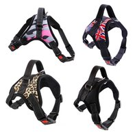 Dog Soft Adjustable Harness Pet Large Walk Out Vest Collar Hand Strap For Small Medium Dogs Collars & Leashes