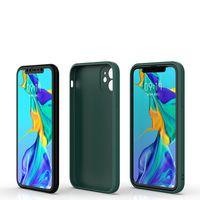 Ultra Slim Matte Candy Color Phone Case Soft Soft TPU Силиконовая задняя крышка Волшебный кубик Чехол для iPhone 12 11 Pro Max XS XR X 8 7 6 PLUS Huawei P50 P0 P0 P30 Xiaomi