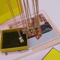 Colliers de pendentif en acier inoxydable de mode de mode pour homme Femme bijouterie Party Mariage Engagement Govers