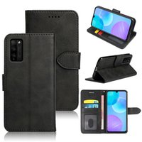 Classic Wallet PU Leather Cases Mobile Phone Bags Card Slot Photo Frame Shockproof Flip Cover For Honor 8 8X Max 8C 8s 7X 7i 7s 6 6A 6C 6X 5A 5C 4A 4X 4C