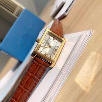 Kajia Temperament Retro Frauen Braun Quarz Uhren Gürtel Mode Trend Uhr Uhr