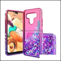 Cases Phone Aessories Cell Phones & Aessoriescase For Lg K51 Stylo 6 Aristo 5 Fortune 3 K31 Luxury Gradient Liquid Quicksand Glitter Shiny D