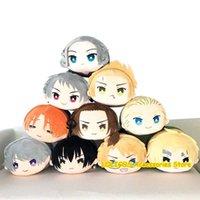 Axis Powers Hetalia Aph Yao Wang Feliciano Vargas söt plysch Mascot Dolls Toy Anime Cosplay Pillow Puppet Xmas Present Y0726