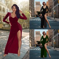 Casual Dresses Red Black Year Christmas Party Long Women 2021 Spring Basic Bodycon Lace Up Stretch Slim Midi Femme